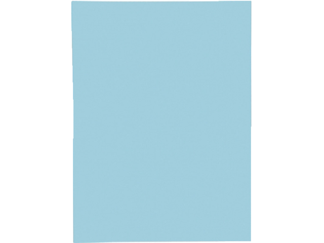 Dossiermap exacompta jura 160gr 1klep lichtblauw