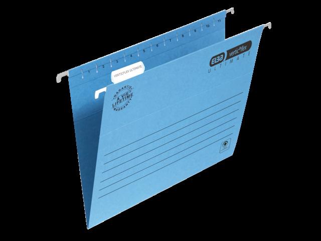 Hangmap elba verticflex folio v-bodem blauw