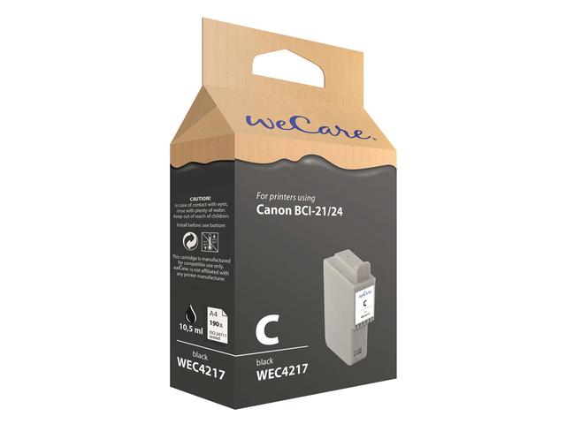 Inkcartridge wecare canon bci-24 zwart