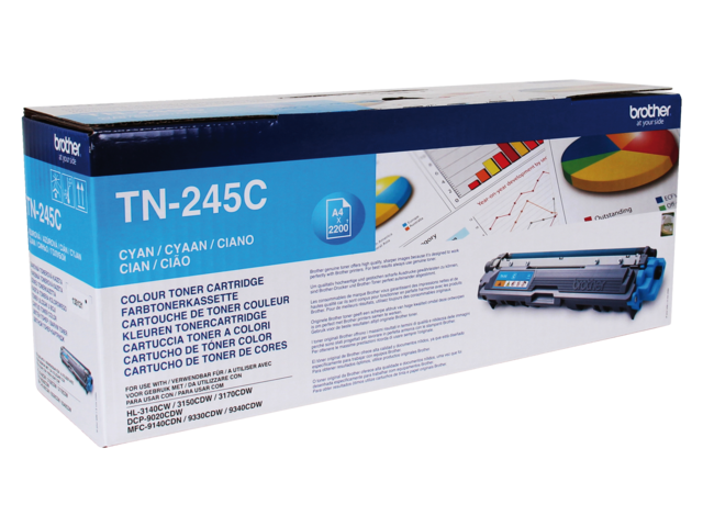 Tonercartridge brother tn-245c blauw