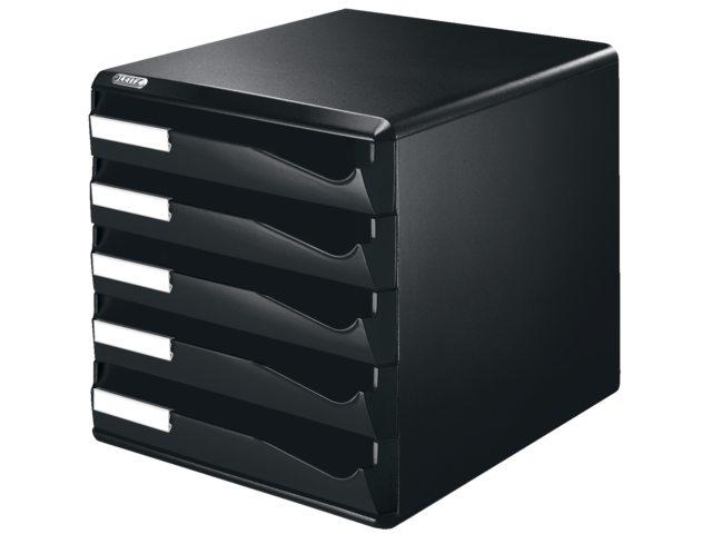 Ladenblok leitz 5293 5 laden zwart bestel uw ladenblok for Ladenblok 10 laden