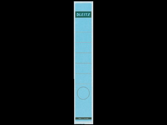 Rugetiket leitz 1648 38x290mm zelfklevend blauw