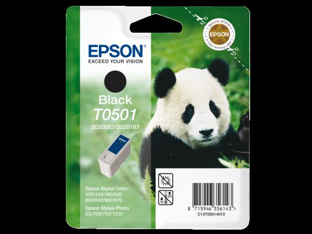 Inkcartridge epson t050140 zwart