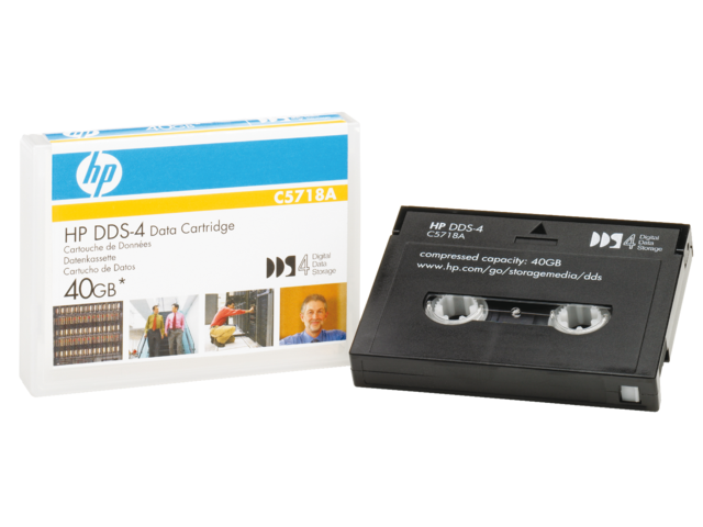 HP DDS-tape 4mm