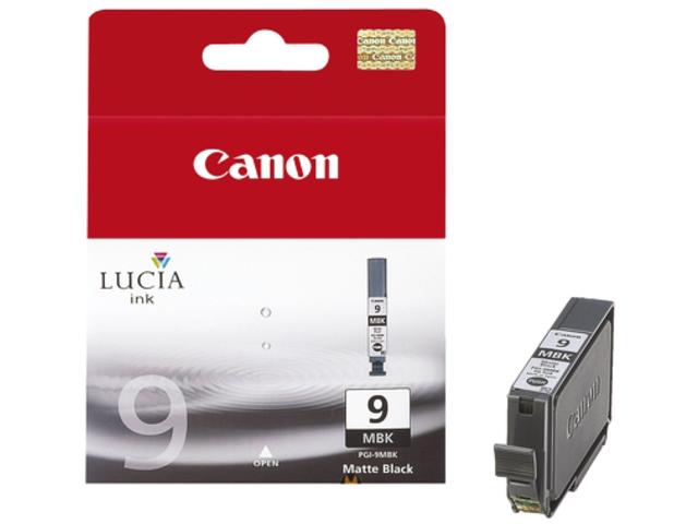 Inkcartridge canon pgi-9mbk mat zwart