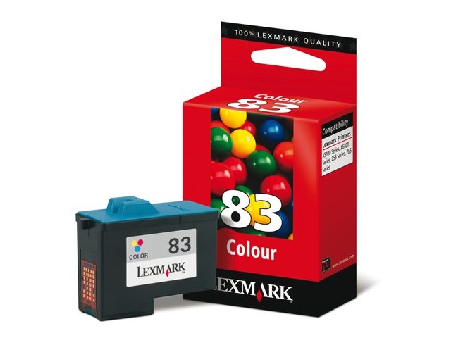 Inkcartridge lexmark 18lx042e 83 kleur hc