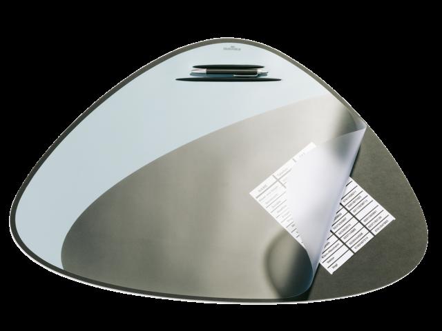 Onderlegger durable 69x51cm zwart