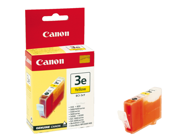 Inkcartridge canon bci-3ey geel