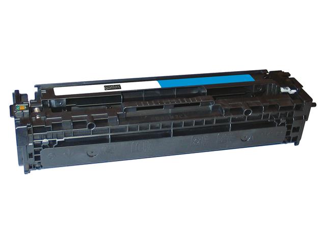 Tonercartridge quantore hp cb541a 125a blauw