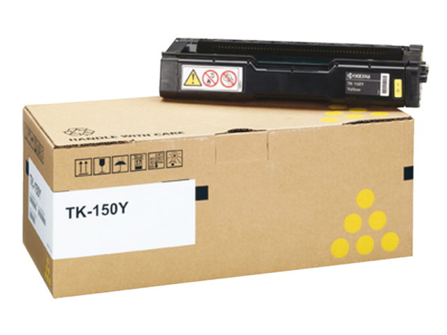 Toner kyocera tk-150y geel
