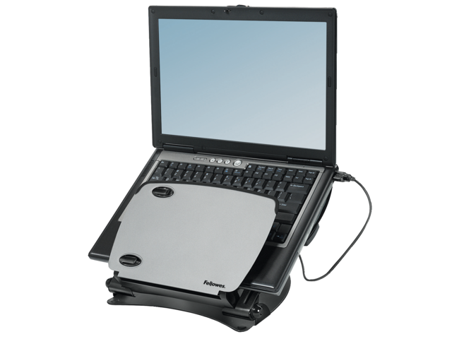 Laptopstandaard workstation professional series metaal+usb