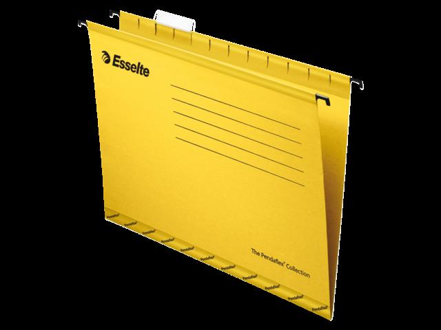Hangmap pendaflex folio v-bodem geel