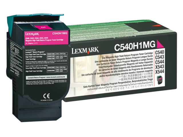 Lexmark laserprintersupplies C serie