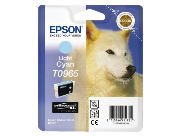 Inkcartridge epson t096540 lichtblauw