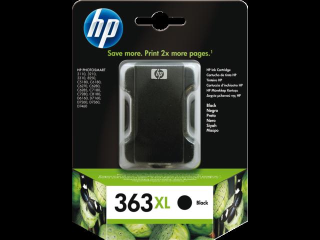 Inkcartridge hp c8719ee 363xl zwart hc