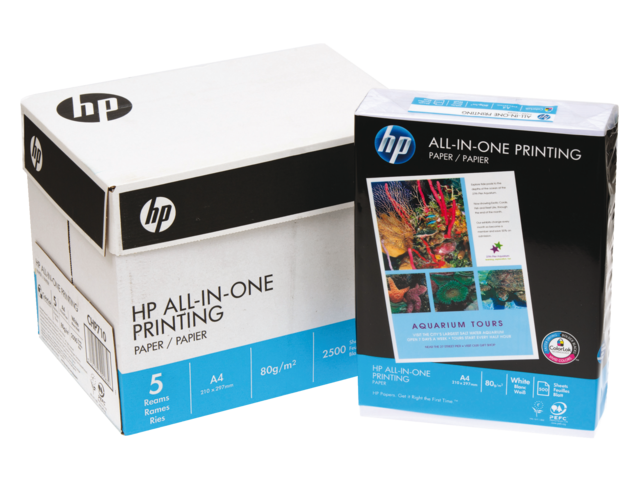 Kopieerpapier hp chp712 all-in-one a4 80gr wit 250vel