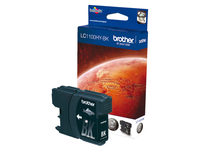 Inkcartridge brother lc-1100hybk zwart hc