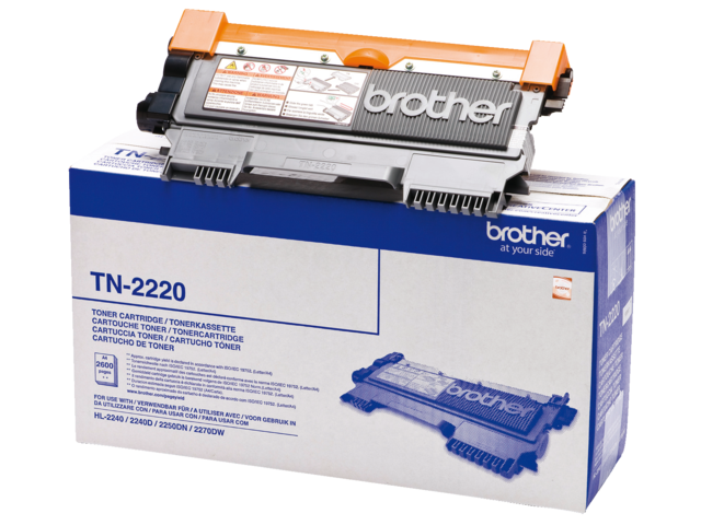 Tonercartridge brother tn-2220 zwart hc