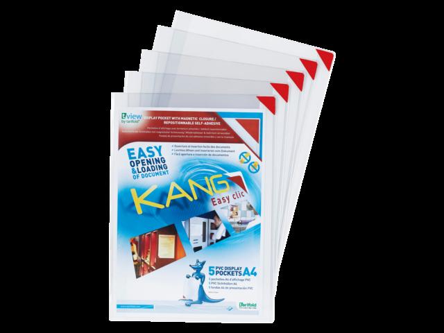 PRESENTEERHOES KANG EASY CLIC SIGNAGE A4