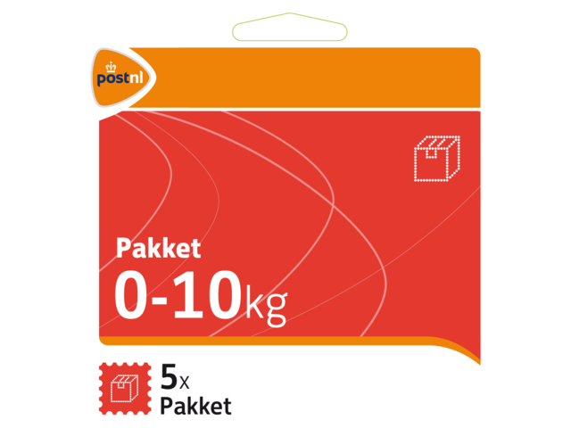 Pakketzegels standaard