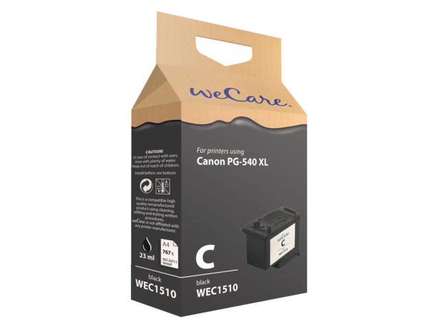 Inkcartridge wecare canon pg-540xl zwart hc