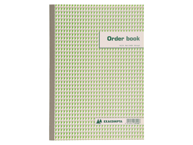 ORDERBOEK EXACOMPTA 297X210MM 50X2V