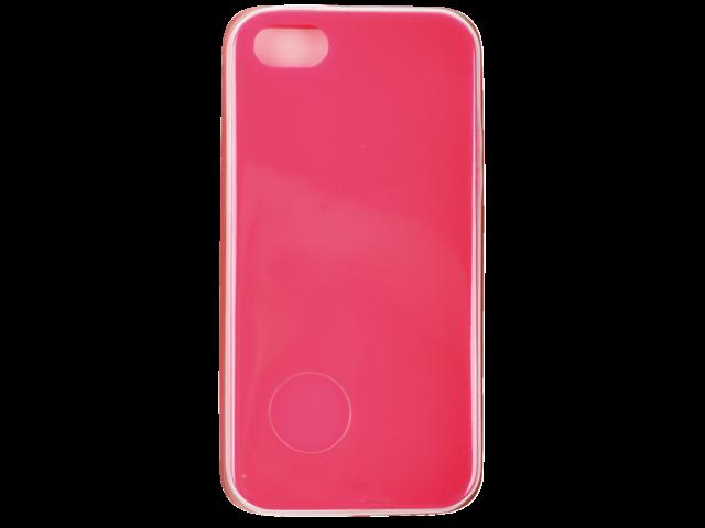 Telefoonhoes dresz tpu case iphone 4/4s donkerroze