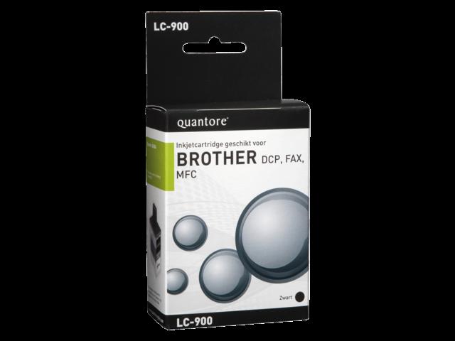 Inkcartridge quantore brother lc-900 zwart