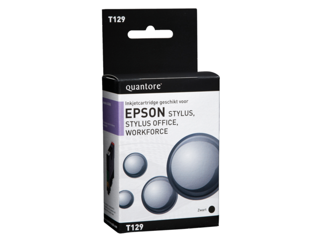 Inkcartridge quantore epson t129140 zwart