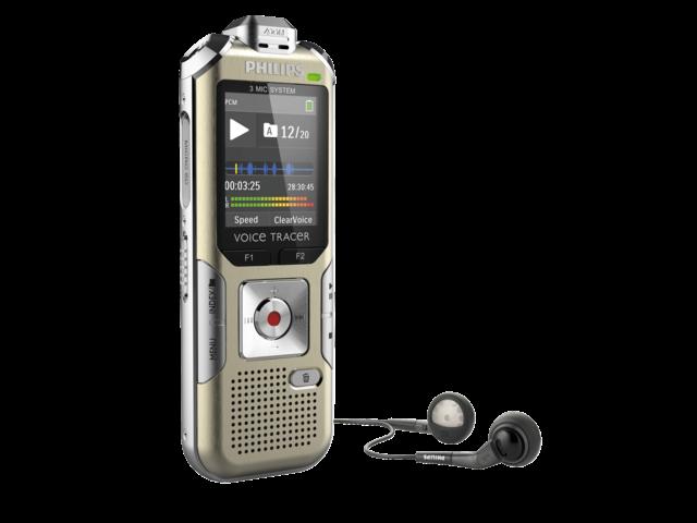Digital voice recorder philips dvt 6500