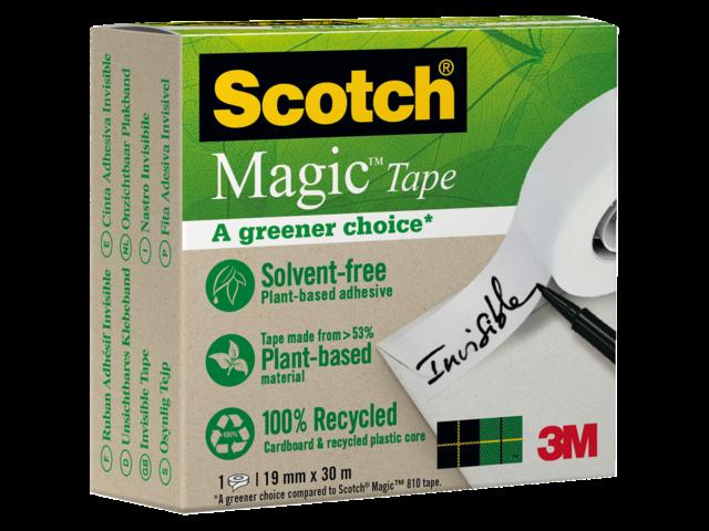 Onzichtbaar plakband scotch magic 900 19mmx30m