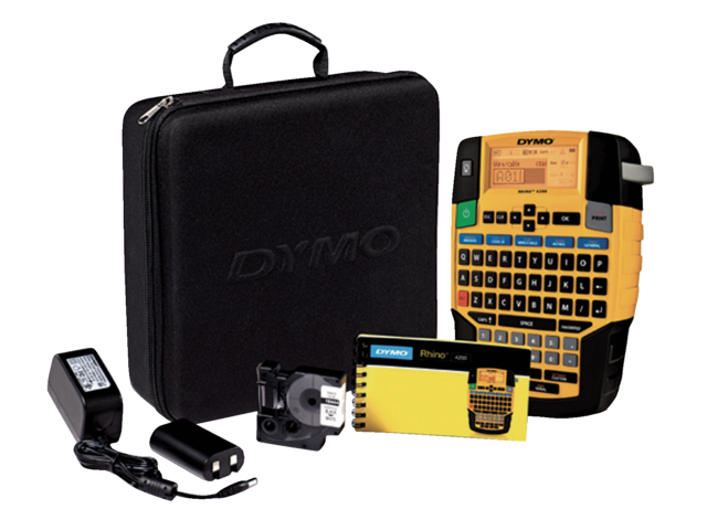 Foto: LABELPRINTER DYMO KITCASE RHINO 4200 AZERTY