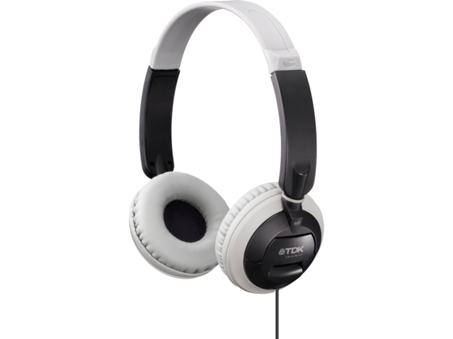 Headset tdk on ear st100 zwart