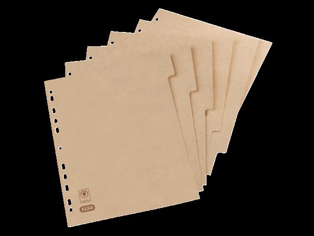 Tabbladen touareg 11-gaats 6-delig naturel karton
