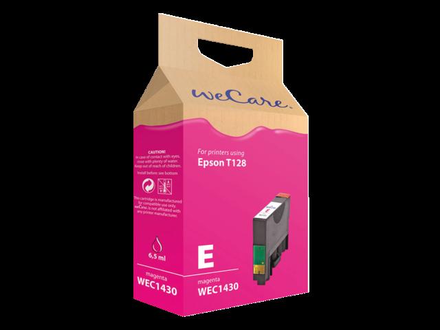Inkcartridge wecare epson t128340 rood