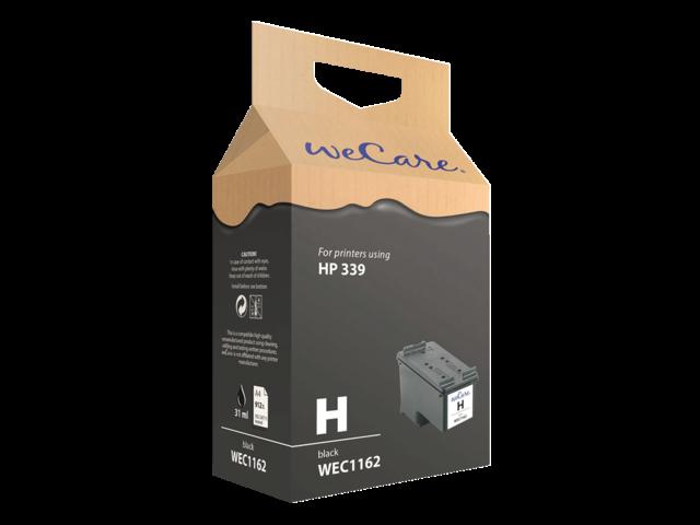 Inkcartridge wecare hp c8767ee 339 zwart