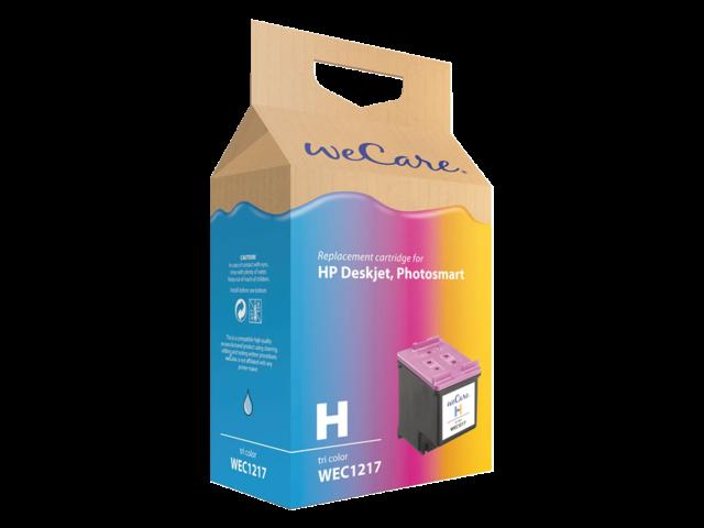 Inkcartridge wecare hp cc644e 300xl kleur hc