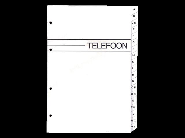 VULLING TELEFOONALBUM KANGARO KTC LARGE A-Z 4RINGS