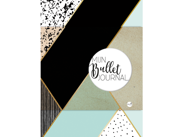 BULLET JOURNAL MINT & GOUD 1