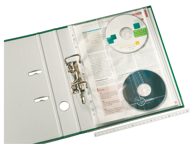Showtas leitz 4761 11-gaats pp 0.12mm met cd hoes