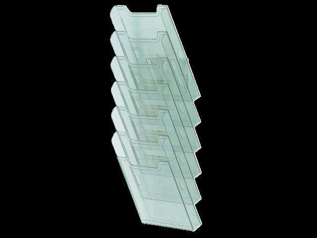 Folderhouder multiform wand a4 staand grijs