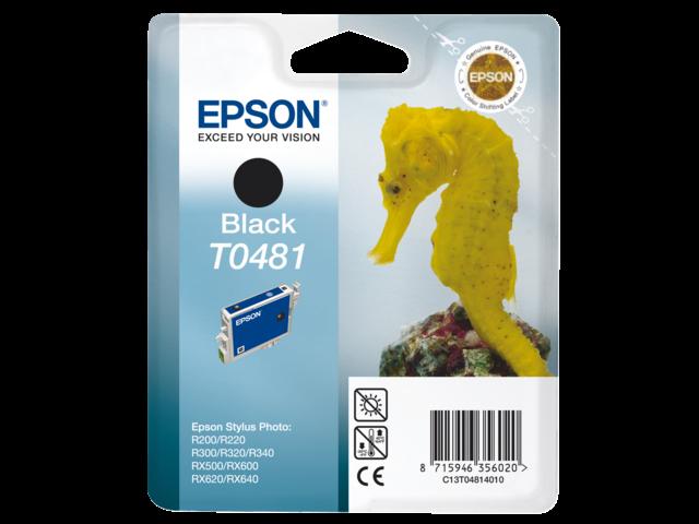 Inkcartridge epson t048140 zwart