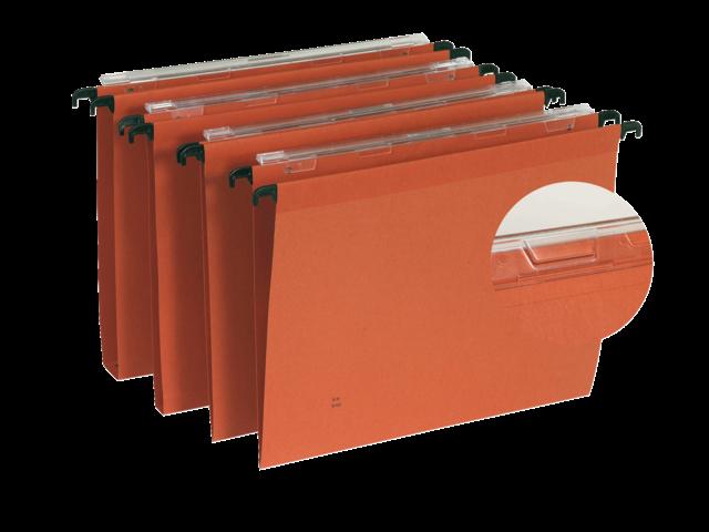 Hangmap oblique defi eco a4 u-bodem 30mm oranje