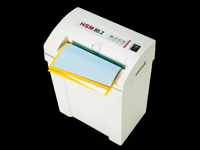 Papiervernietiger hsm classic 80.2 stroken 3.9mm