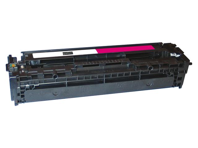 Tonercartridge quantore hp cb543a 125a rood