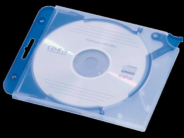 CD OPBERGMAP QUICKFLIP COMPLEET BLAUW