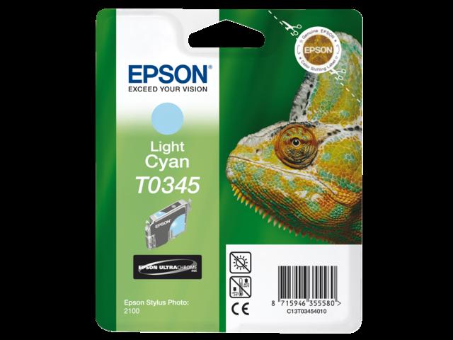 Inkcartridge epson t034540 lichtblauw