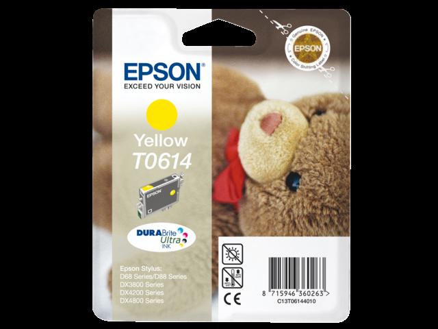 Inkcartridge epson t061440 geel