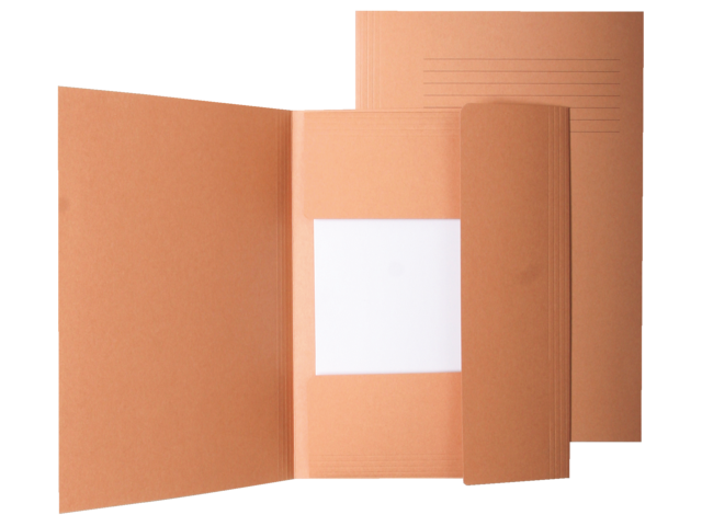 Dossiermap quantore folio 250gr chamois zuurvrij icn1