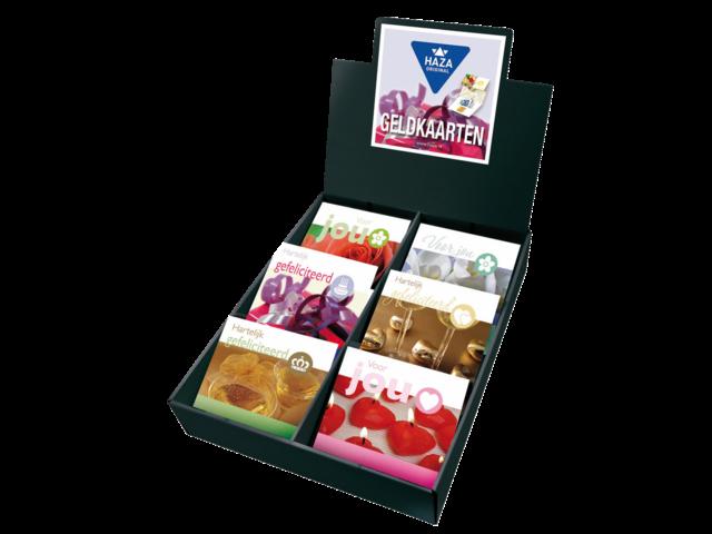 Geldkaarten haza assorti